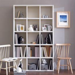 AB3500-Cream  Bookcase