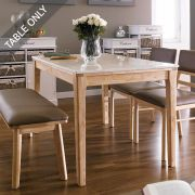 Kimberly-4-Marble-D  Dining Table  (Table Only)