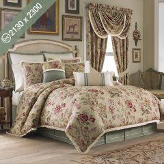 Cottage Rose  Queen/King Comforter
