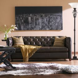 8645-30-Coffee  Sofa