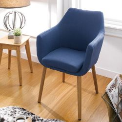 Nora-Blue  Accent Chair