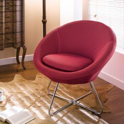 Center-Red  Resting Chair