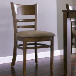 Cabin-Walnut-C  Wooden Chair