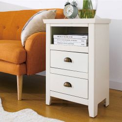 Donna Ivory Nightstand