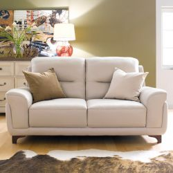 S-1892  3-Seater Leather Sofa