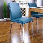 Leonora-Petrol  Chair