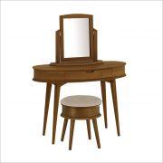 Orbit-Walnut  Wood Vanity