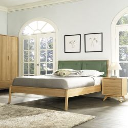Milano  Queen Bed w/ Slats