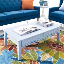 MiMi-Blue-Sofa  Sofa Table