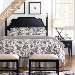 Mandy-67H-HB  Super Single Poster Bed