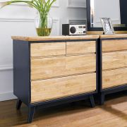 NB-Blue-3DR  3-Drawer Chest