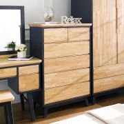 NB-Blue-5DR  5-Drawer Chest