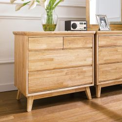 NB-Natural-3DR  3-Drawer Chest