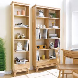 NB-Natural-SB  Small Bookcase