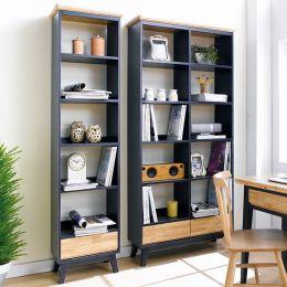 NB-Blue-SB  Small Bookcase