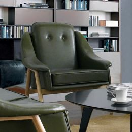 Camello-Green  Single Chair