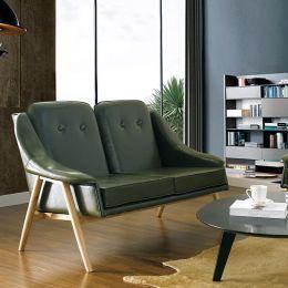 Camello-Green  2-Seater Sofa