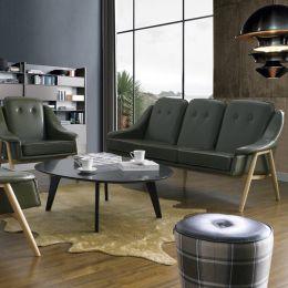 Camello-Green  3-Seater Sofa
