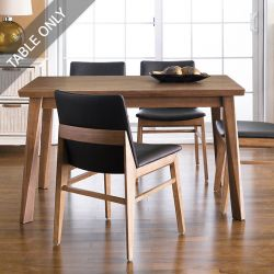Zodax-4-Walnut-D  Dining Table (Table Only)