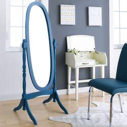 TP-602-Blue Oval Mirror