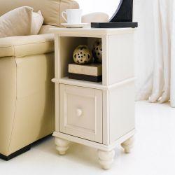 Y3659-02C-Cream  Side Table