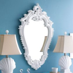MI12347-WHT  Wall Mirror