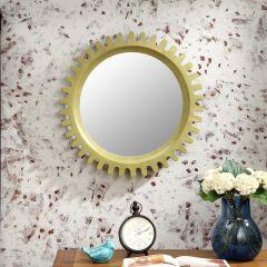 Sun-Green  Decorative Mirror