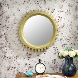 Sun-Green  Wall Mirror