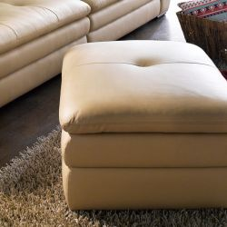 AGS037-Ivory  Ottoman