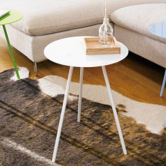 MF-7903-White  Side Table