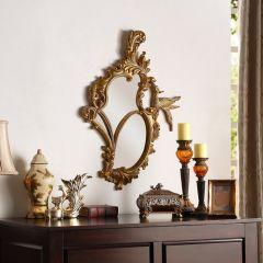 Phoenix-Gold Decorative Mirror