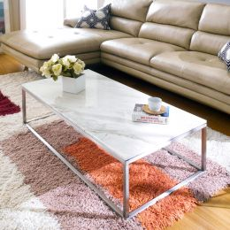 Bran-RCT-Marble  Marble Rectangular Coffee Table