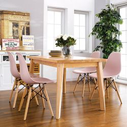 D638-4C  Dining Set  (1 Table + 4 Chairs)