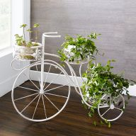 PL08-6942  Bicycle Plant Stand