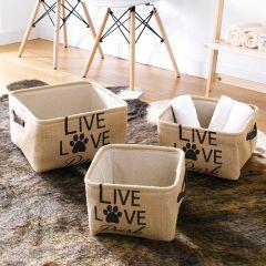 Live-Love  Baskets (3 Pcs)
