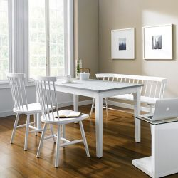 Snow-4  Dining Set (1 Table + 2 Chairs + 1 Bench)