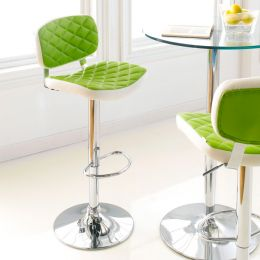 59789-Lime  Ajustable Bar Stool