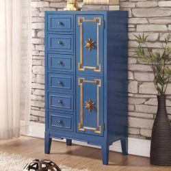 Blue-Closet  Tall Chest