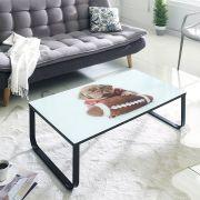 8085  Glass Coffee Table