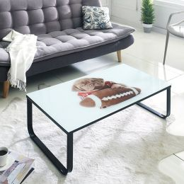 8085  Glass Coffee Table