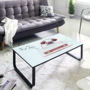 8086  Glass Coffee Table