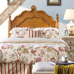 Lily-Brown-HB  Single Panel Bed