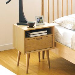 Orbit-Oak  Nightstand