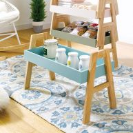 A-Tray-Blue  Stackable Rack