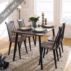 Julie-Black-4-D  Dining Table  (Table Only)