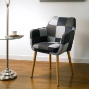 Nora-Multi-Grey  Carver Chair