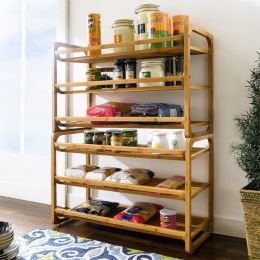 Bamboo-02  2-Stackable Rack
