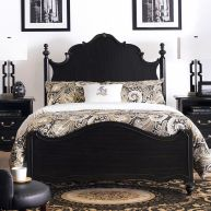 Perris-QN  Queen Panel Bed