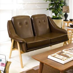 Camello-Coffee  2-Seater Sofa