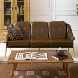 Camello-Coffee  3-Seater Sofa
